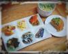 宮本佳林の手作り料理がもはや精進料理、もしくは病院食のお知らせ 漬物酢の物白和え米粉…