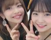 Juice=Juice金澤朋子と稲場愛香の最新ツーショットが可愛いと話題