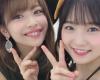 【Juice=Juice】最新ハロの神2こと金澤朋子稲場愛香の2ショット