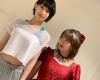 石田「私は14歳の頃に加入したけど15歳の北川ちゃんはフォーメーションダンスに苦戦!時間は限られてるから集中して頑張ります!」